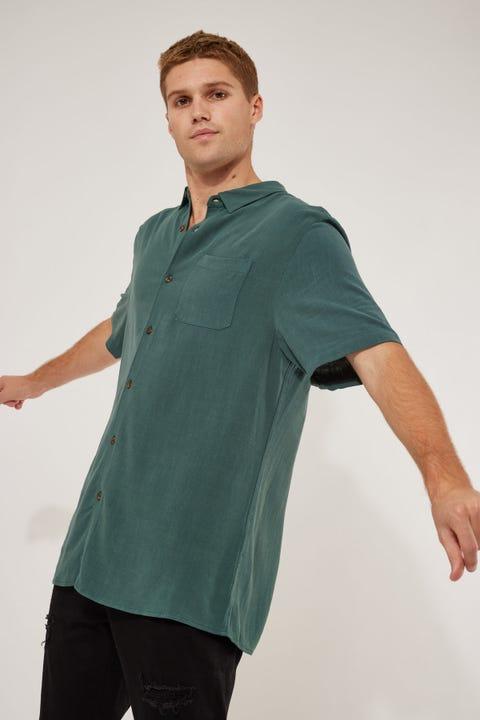 Common Need Daring Party Shirt Teal