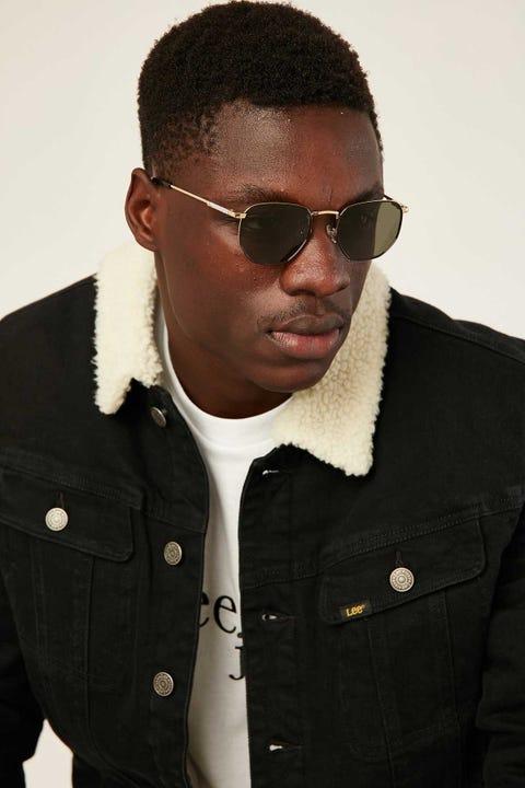 Le Specs Alto Gold/Black/Khaki