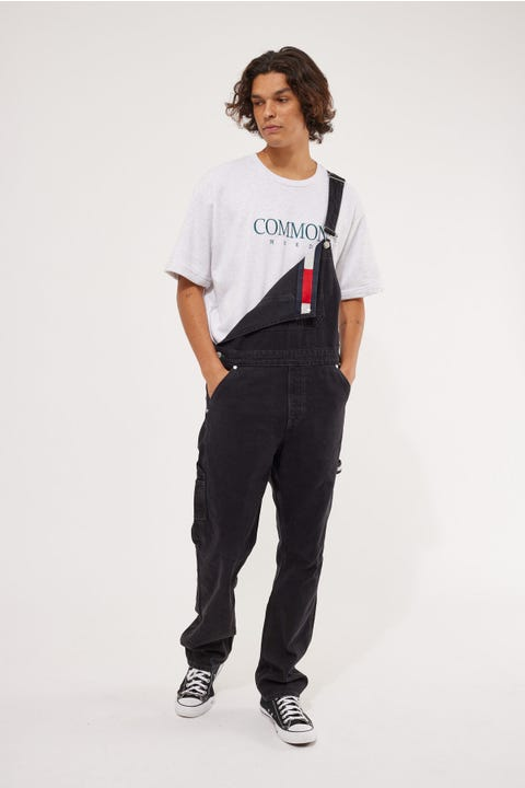 Tommy Jeans Tommy Dungaree Black