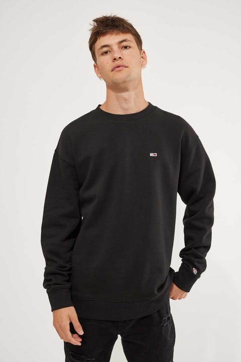 Tommy Jeans Tommy Classic Crew Black