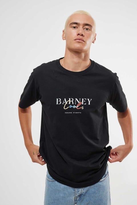 Barney Cools Colour Script Tee Black