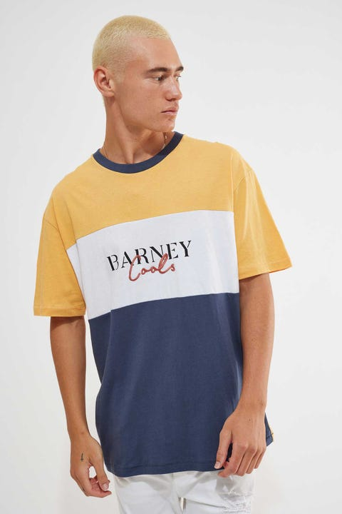 Barney Cools Colour Script Homie Tee Mustard