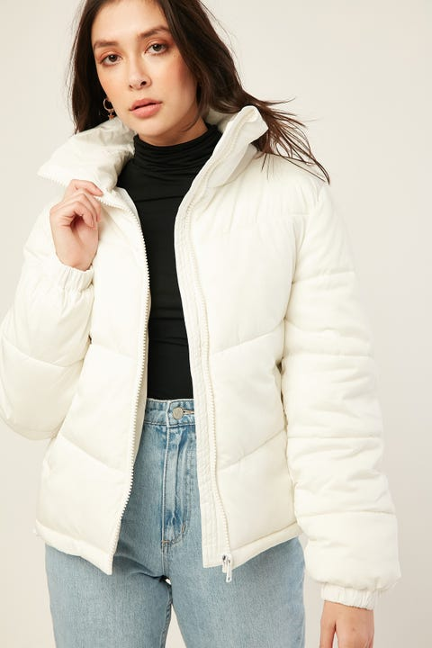 Luck & Trouble Puff Jacket Cream