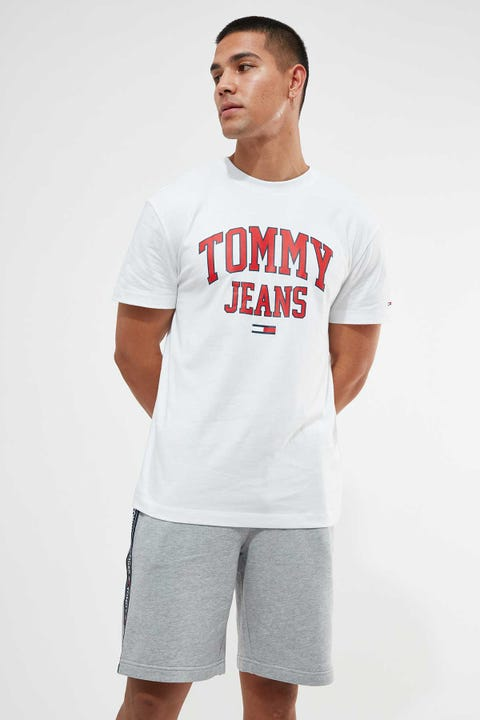 Tommy Jeans Collegiate Tee White