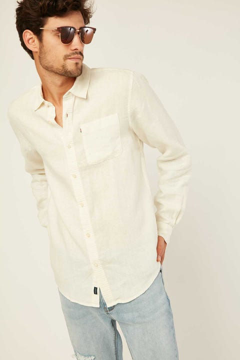 THE ACADEMY BRAND Hampton LS Shirt Fog