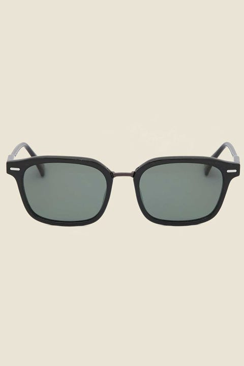 Raen Bastien Polarized Crystal Black/Green