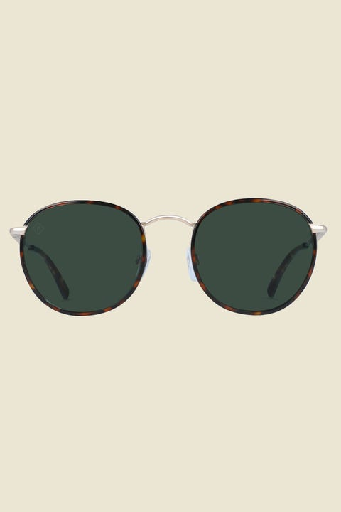 Raen Mason 48 Polarized Brindle Tort/Green