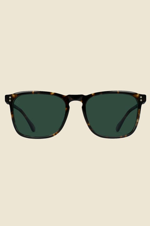 Raen Wiley Polarized Brindle Tort/Green