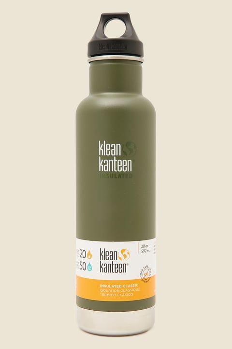 Klean Kanteen Insulated Classic 20oz Bottle Fresh Pine