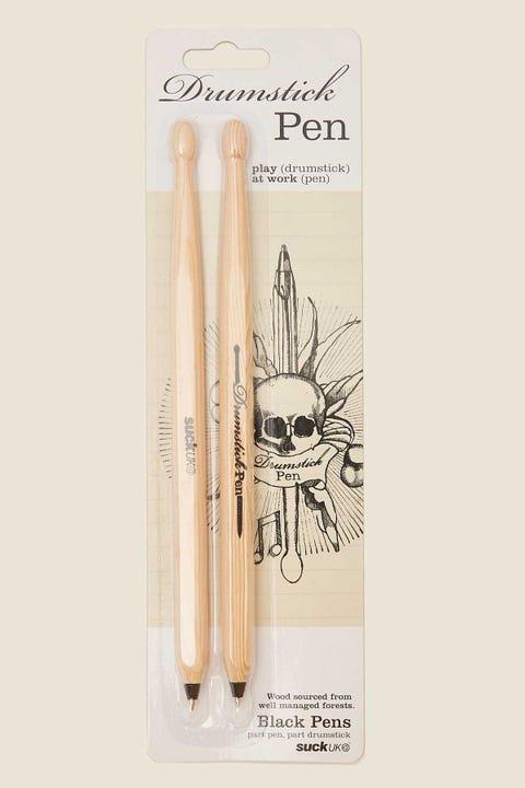 SUCK UK Drumstick Pen Black