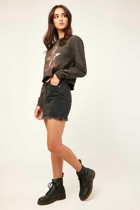 Abrand A Skirt Graphite Graphite