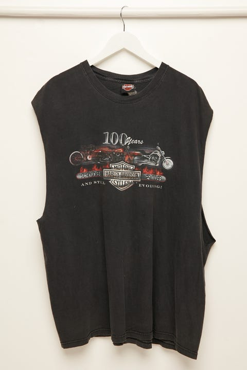 The People Vs Harley Collector Muscle Vintage Black