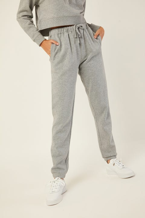 AS COLOUR Surplus Trackpant Grey Marle
