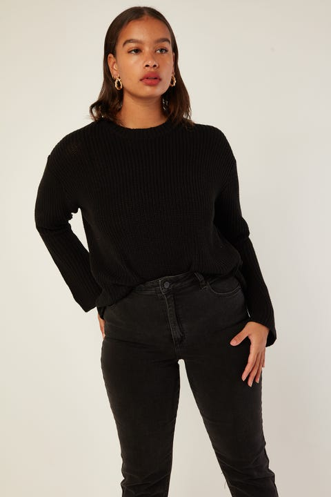 JORGE Ruby Knit Black