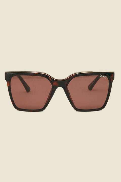 Quay Level Up Tort Gold/Brown