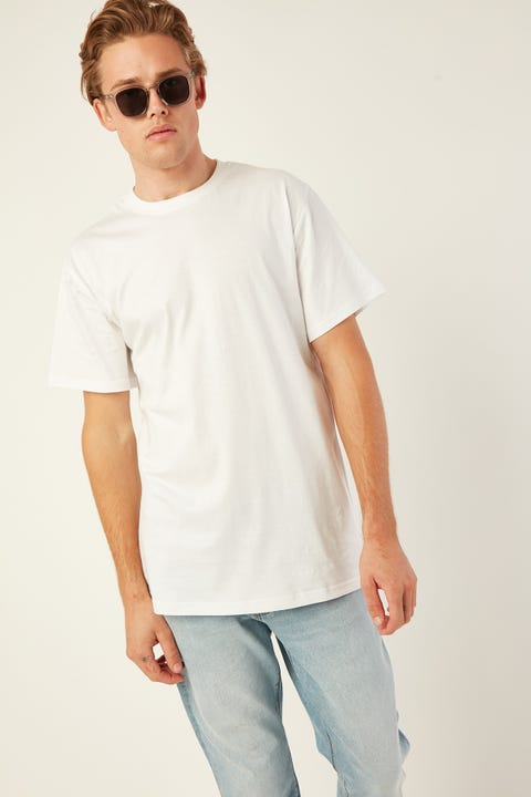 AS COLOUR Plus Tee White
