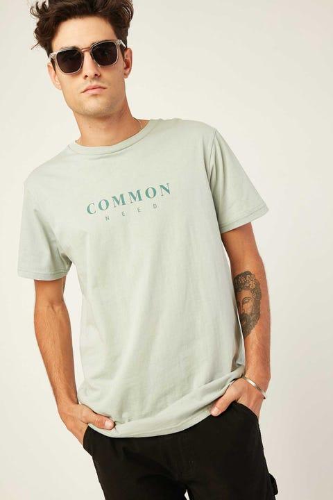COMMON NEED Masonry Tee Green