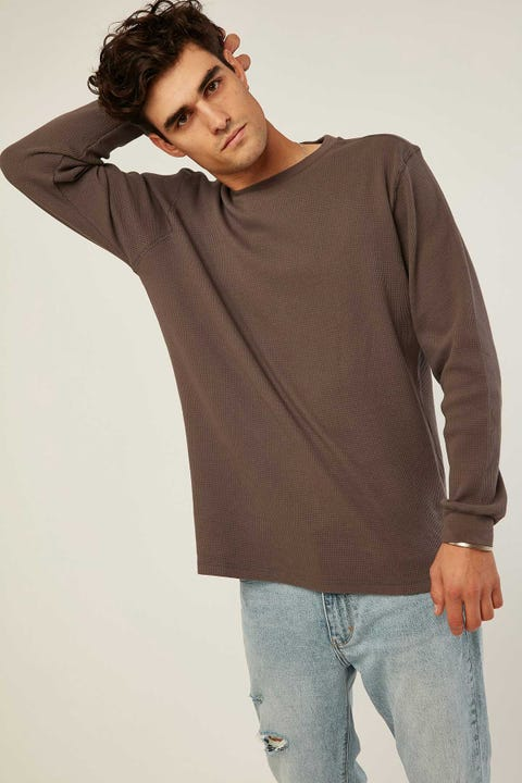 Common Need Comfort Longsleeve Tee Charcoal