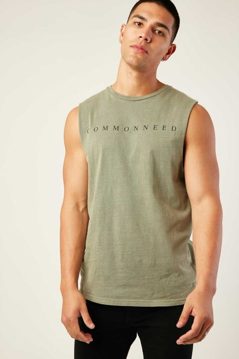 Common Need Twitch Tank Khaki