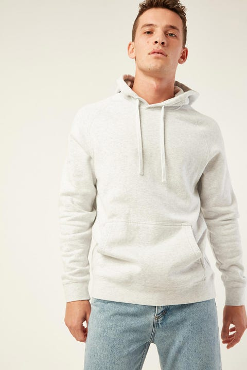 AS COLOUR Supply Hood White Marle