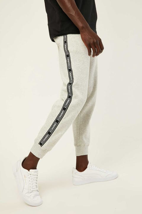 COMMON NEED Relaxed Trackpant Grey Marle