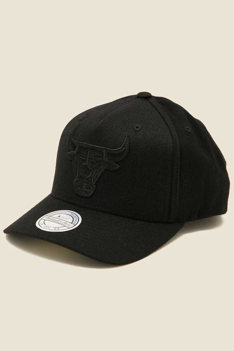 Mitchell & Ness Chicago Bulls 110 Snapback Black/Black