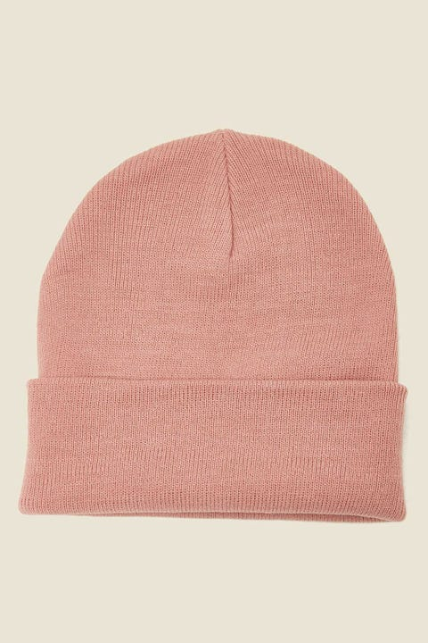 AS COLOUR Cuff Beanie Rose