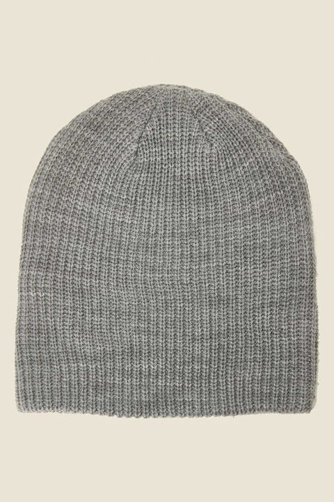 AS COLOUR Cable Beanie Grey Marle