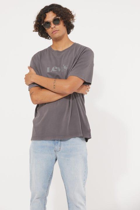 Levi's Relaxed SNNL Logo Tee Black Pearl