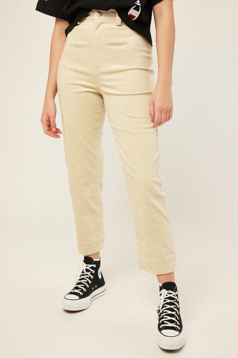 Luck & Trouble Amara Cord Pant Cream