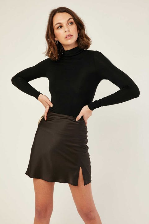 LUCK & TROUBLE Fantasia Mini Skirt Black