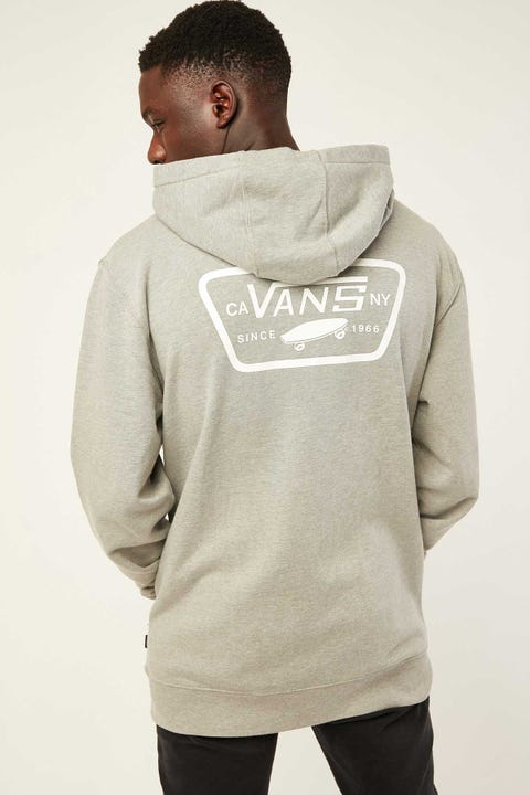 VANS Full Patched Hoodie Cement Heather