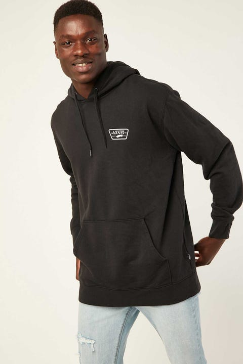 VANS Full Patched Hoodie Black