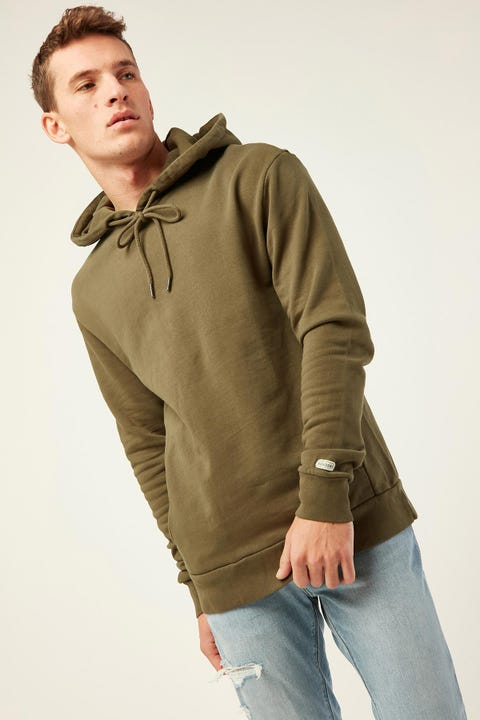 THE ACADEMY BRAND Boston Hoodie Olive