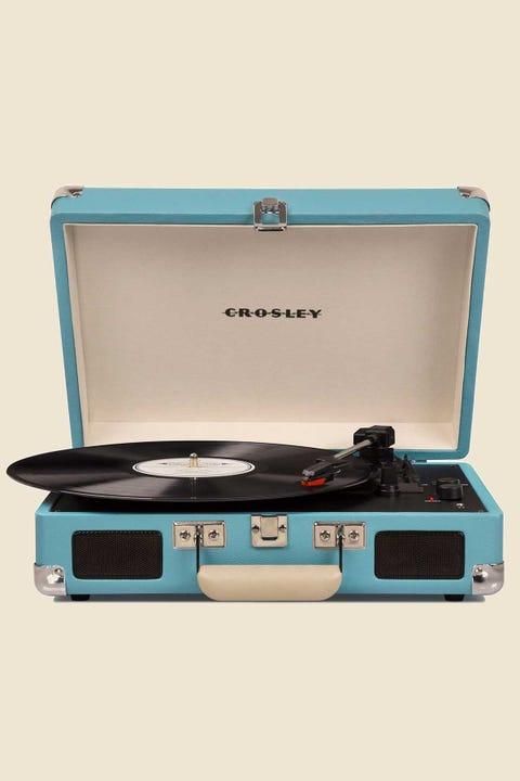 CROSLEY Cruiser Deluxe Portable Turntable Turquoise