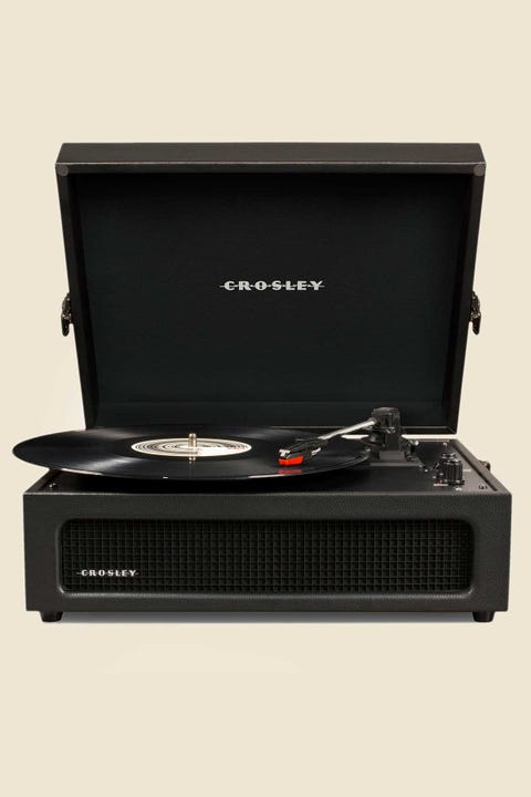 Crosley Voyager Portable Turntable Black