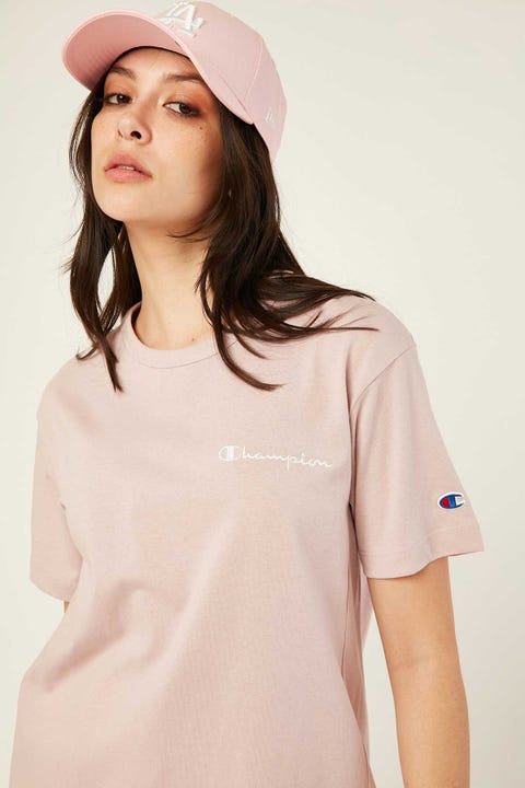 Champion Heritage BF Tee Blush Ceramic