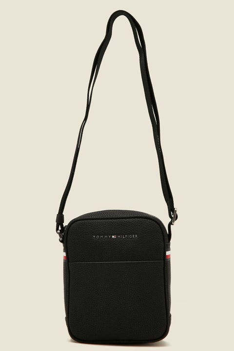 TOMMY JEANS Essential Mini Reporter Black