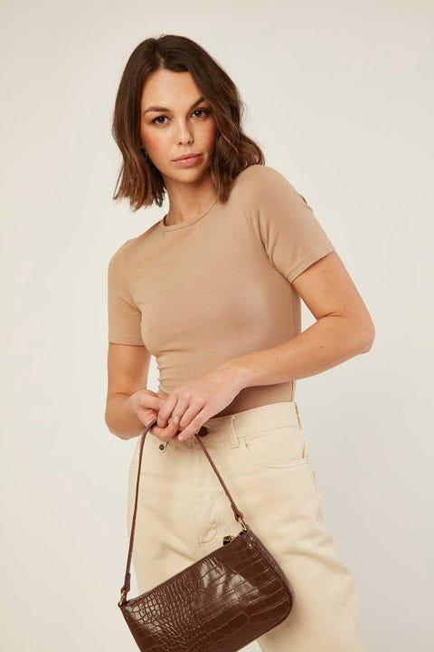 L&T Original Bodysuit Caramel