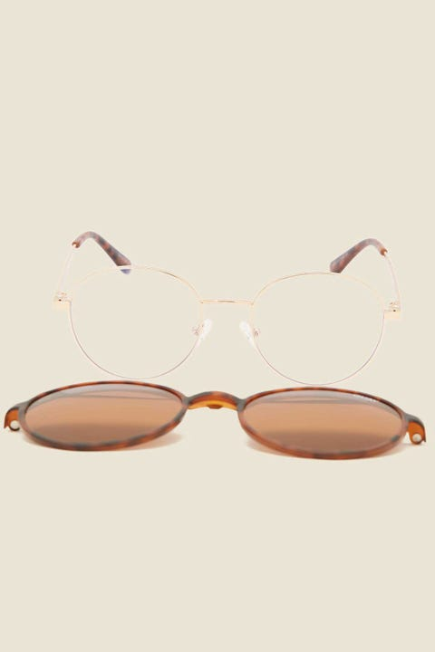 QUAY I See You Clip On Tort/Brown