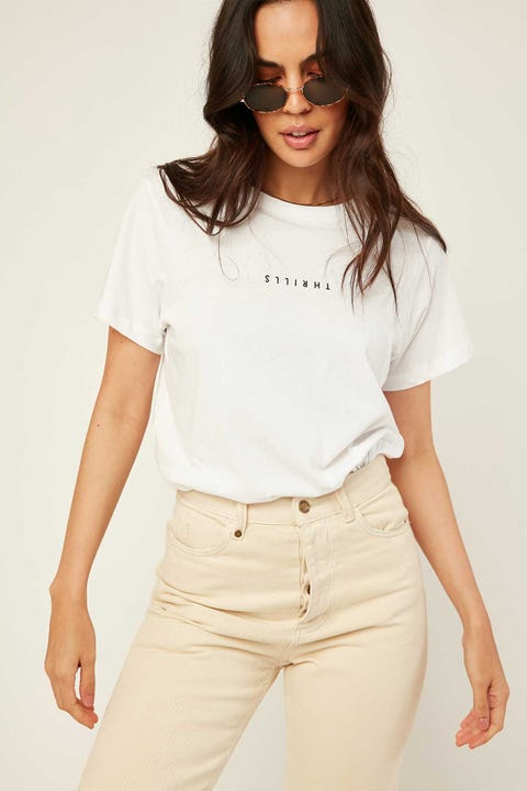 THRILLS Minimal Thrills Relaxed Tee White
