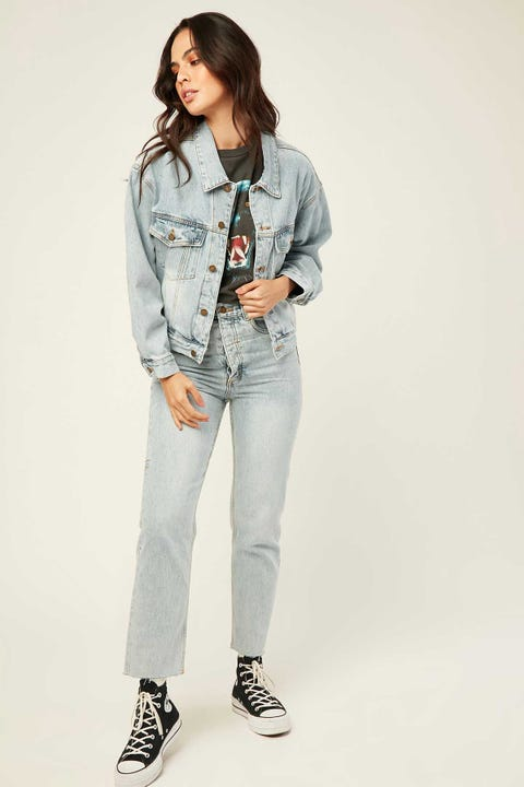 THRILLS Jessie Jacket Time Worn Blue