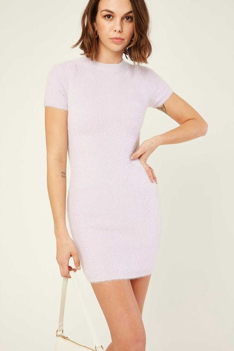 LUCK & TROUBLE Together Forever Dress Purple