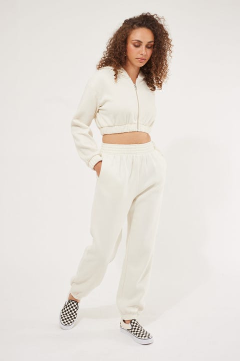 Luck & Trouble Relaxed Trackpant Cream