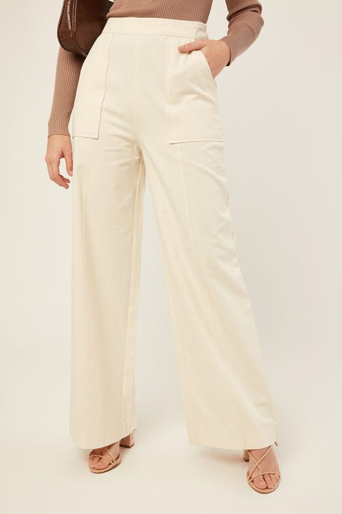 Perfect Stranger Part Ways Pant Cream