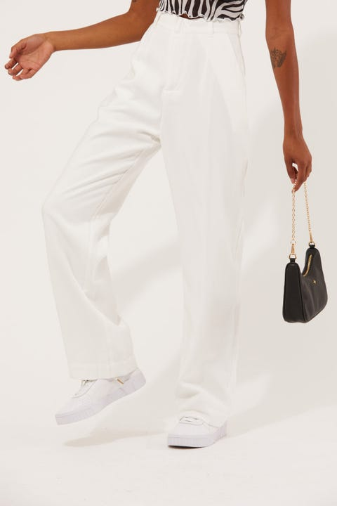 Perfect Stranger Stay With Me Pant White