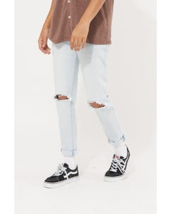 Abrand A Dropped Skinny Turn Up Jean Streetsoul