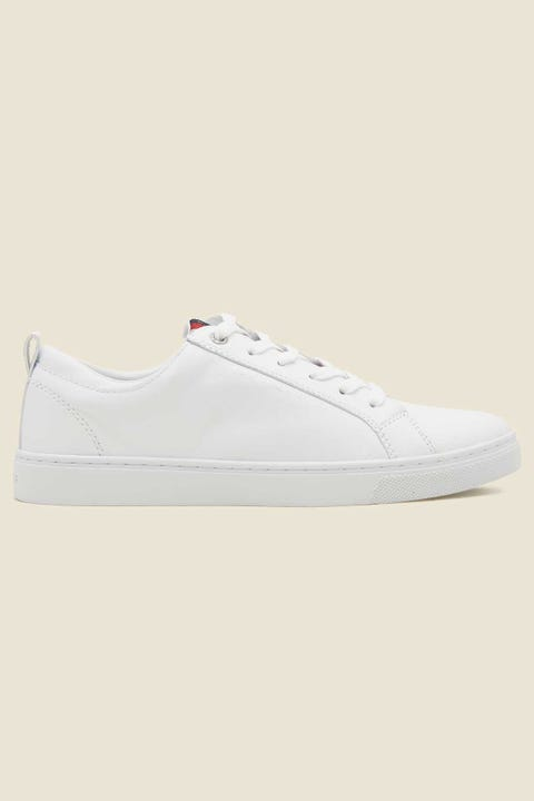 Tommy Jeans Womens Casual Corporate Sneaker White