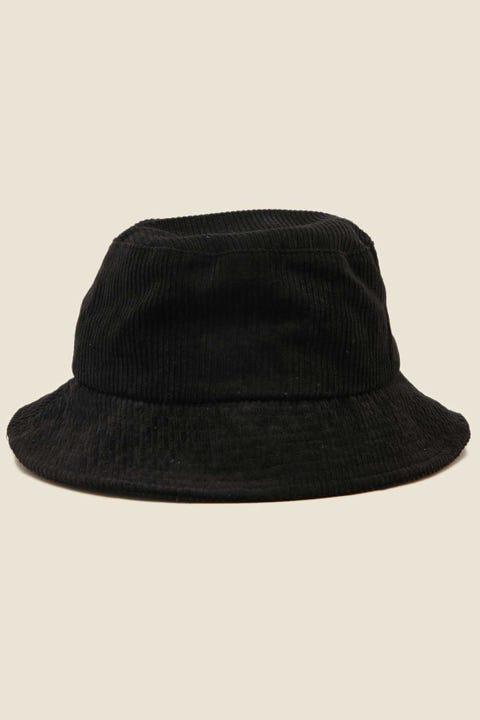 TOKEN Coordination Bucket Hat Black Cord