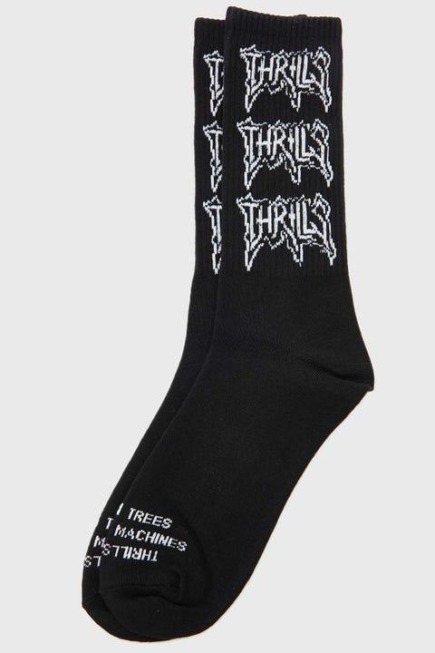 Thrills What We Believe Sock Black